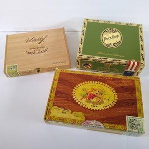 Cigar Box Lot